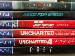 PS4 Games Original From Canada (Used only once)