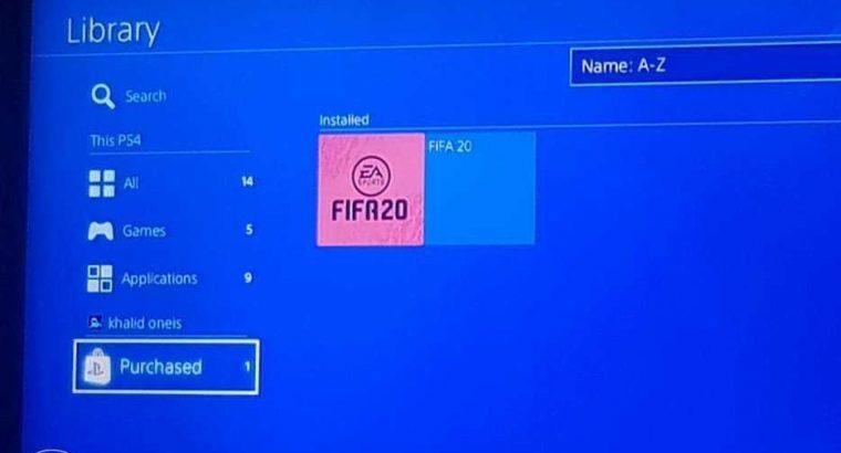 fifa 20 on account