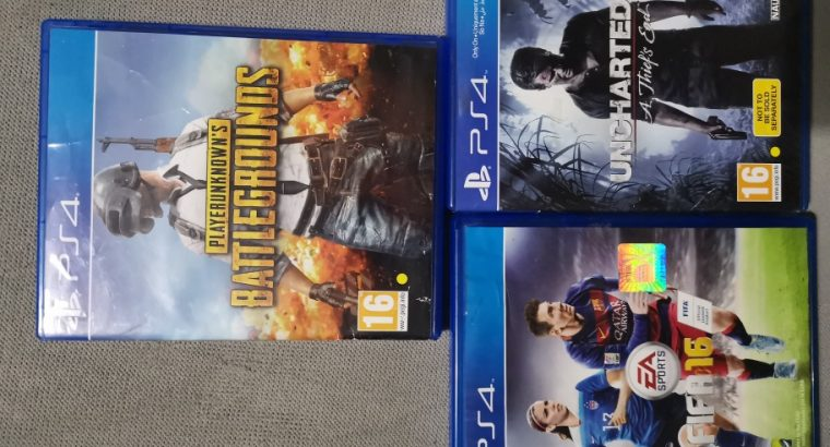 Ps4 Games for trade or salee