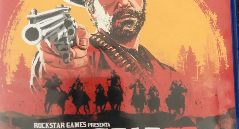 Red dead redemption 2 used like new