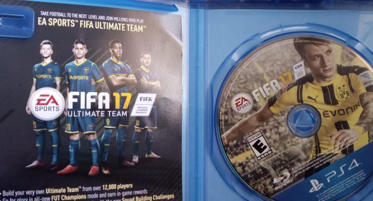 FIFA 17, 18, 19