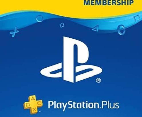 1-YEAR PLAYSTATION PLUS MEMBERSHIP (PS+) – PS3/PS4