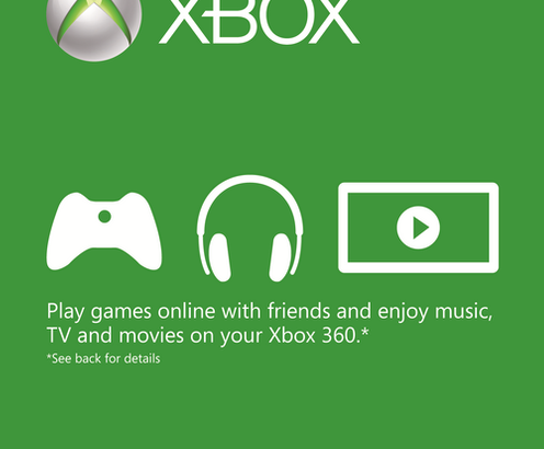 12 MONTH XBOX LIVE GOLD MEMBERSHIP (MEA)