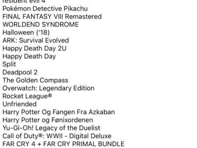 PlayStation account