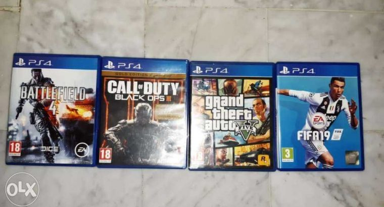 Fifa 19_ call of duty black ops 3_gta5 _battle feild 4