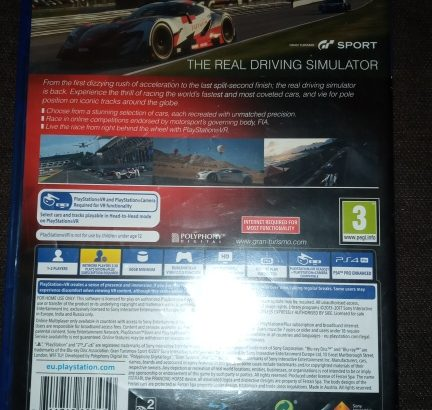 ps4 game new  (cars game)