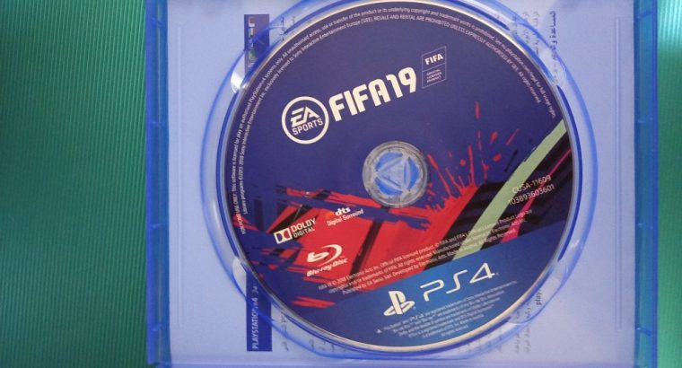 ps4 Fifa 19 CD