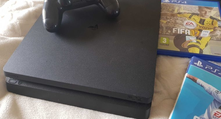 ps4 slim and fat like new