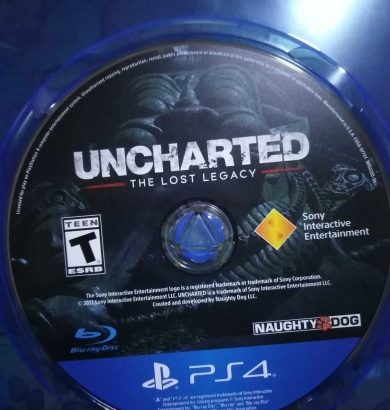 Uncharted the lost legacy and uncharted collection