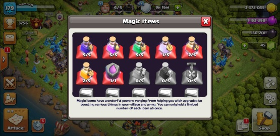 clash of clans th13 nearly max
