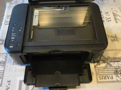 Canon printer wireless and wired printer very clean and new without ink for only 50$ negotiable price