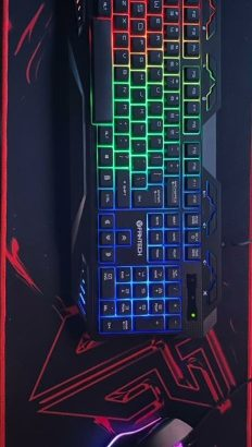 Fantech keyboard +mouse+mouse pad for only 30$