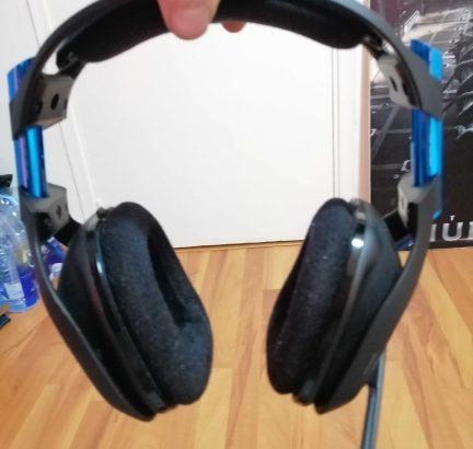 gaming headset astro a50 used 2 week 3l tejreb jdide ba3da ma3 box w kel ghrada