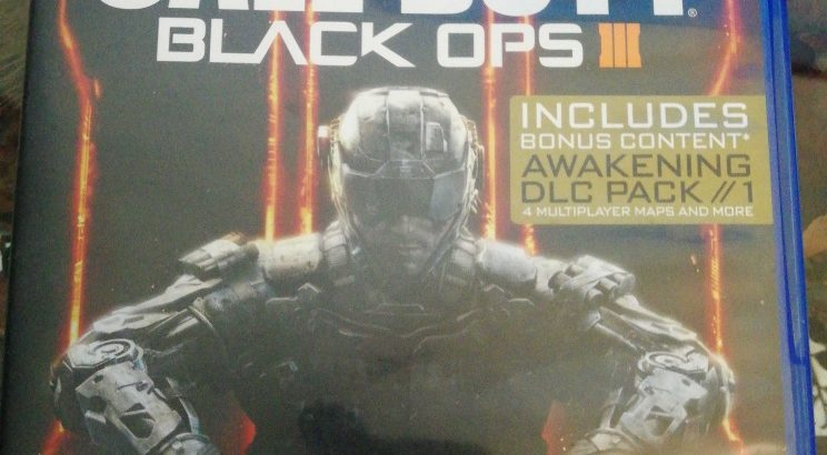 Call of duty black ops 3 gold edition for sale or trade