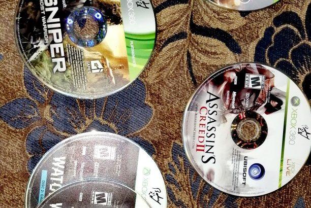 Trade or sale original games