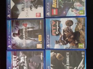6 PS4 games