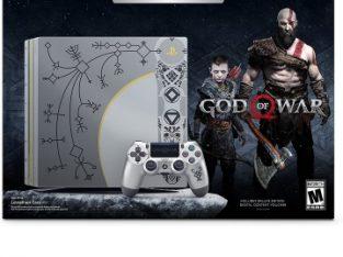 ps4 pro limited edition god of war 1TB 4k control original god of war