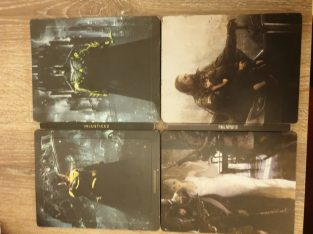 injustice 2 ultimate edition steelbok + final fantasy XV steelbook