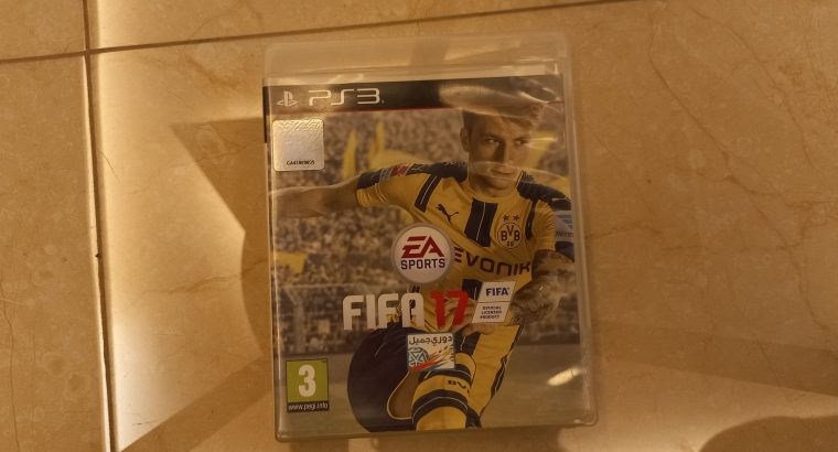 FIFA 17 FOR PS3.