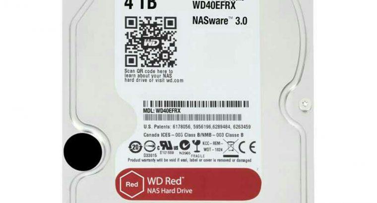 hard disk red 4t +hard disk toshiba 500