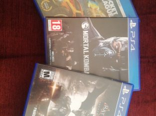 PS4 CDs in excellent condition