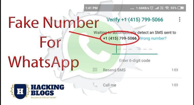 american fake number