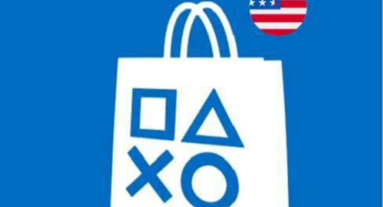 PSN giftcards