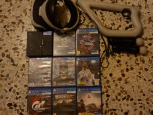 ps vr cds and accessories