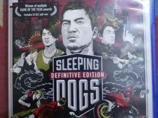 Sleepings dogs and golf club collecters edition