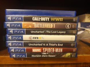 8 ps4 games for 40$