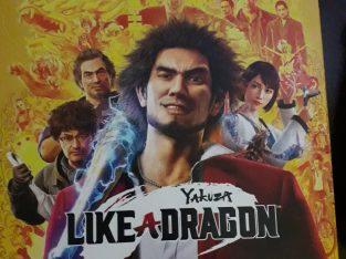Yakuza like a dragon steelbook