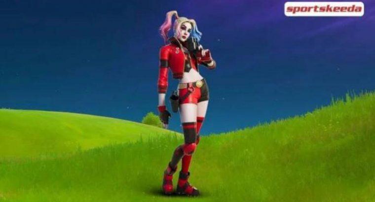 Harley Quinn code  /skin fortnite game