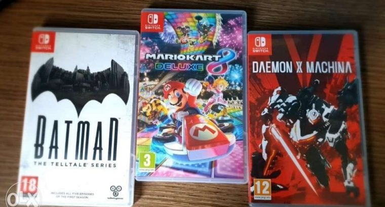 Nintendo switch games for 30$