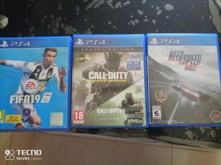 call of duty / fifa 19/ need for speed